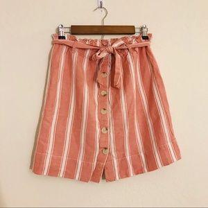 Loft Striped Skirt Size XS